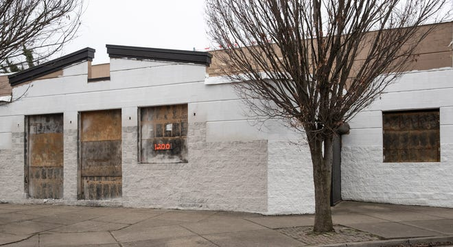 Construction work continues on the Dare to Care Community Kitchen at 1200 S. 28th St. in the Parkland neighborhood. Feb. 12, 2020.