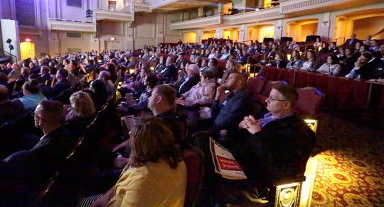 A view at the Awards of Distinction, Tuesday, February 11, 2020 at the Capitol Civic Centre in Manitowoc, Wis.