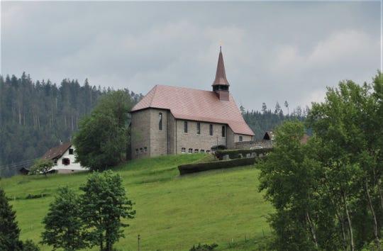 St. Josef Church in Hundsbach, Germany.