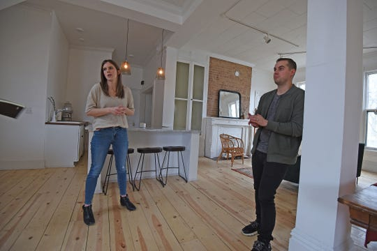 Alyssa and Eric Biddle discuss The Gallery on Mulberry and their efforts to restore the location for rental.