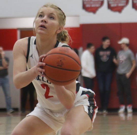 Shelby's Mary Mayer has the Lady Whippets looking for a program-record 21 regular-season wins.