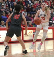 Shelby's Olivia Baker helped the Lady Whippets collect a program-record 21 regular-season wins.