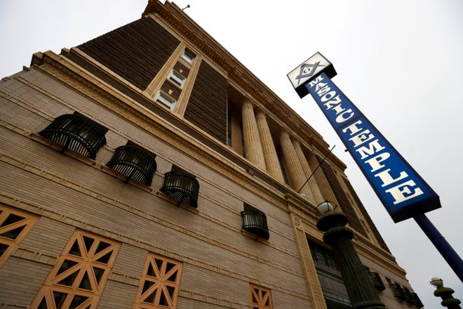 Masonic Lodge 299, a 106-year-old Downtown building at 272 Court Avenue, is up for sale.