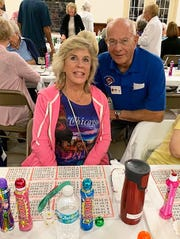 On Feb. 6, the Knights of Columbus San Marco Council #6344 hosted a Bingo Night in the San Marco Parish Center. The jackpot winner was Jamie Erickson of North Naples, with Knight Joe Swaja, navigator of San Marco Assembly #2514.