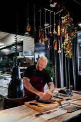 Chef Jimmy Papadopoulos of Bellemore in Chicago will cook Nov. 10 at EsterEv, the final dinner in a seven-dinner series that kicks off in April.