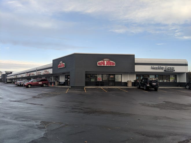 Sola Salon Studios is the first tenant to move the renovated strip mall renamed The Shops on Appleton. Both renovated buildings are near the northeast intersection of Appleton Avenue and University Drive.