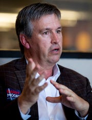 Republican congressional candidate Barry Moore during an interview in Montgomery, Ala., on Wednesday February 12, 2020.