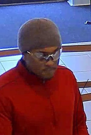 Police are searching for this man in connection to a bank robbery at a Wells Fargo at the intersection of Atlanta Highway and Bell Road.