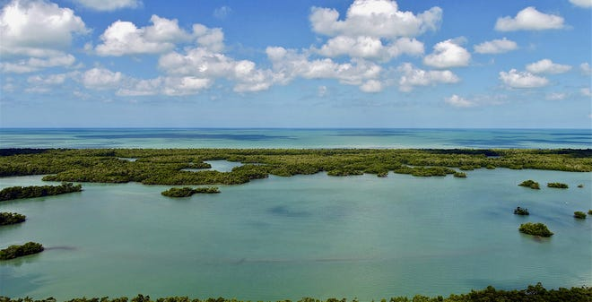 The just released penthouse residences at Kalea Bay offer phenomenal Gulf of Mexico views.