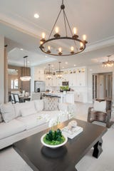Abaco Pointe, Toll Brothers' new gated, luxury community of attached villas in Naples, is offering several homes that will be move-in ready this spring.