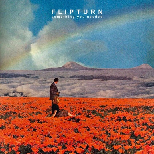 """Flipturn's new EP, """"Somethign You Needed,"""" that dropped in early February 2020."""