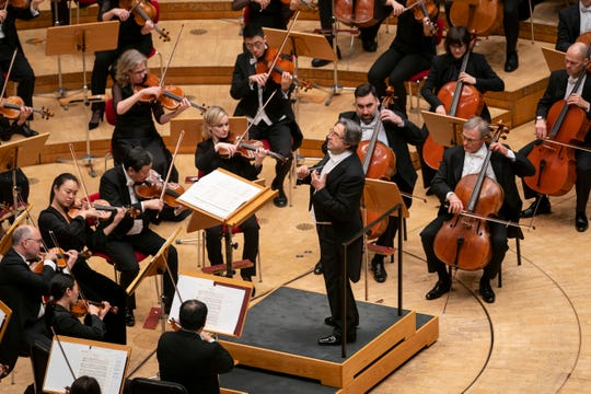 The Chicago Symphony Orchestra, Riccardo Muti, music director, in Cologne during its January, 2020, European Tour