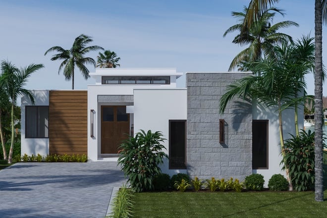 Divco Custom Homes' Andora model is located in the award-winning community of Miromar Lakes.