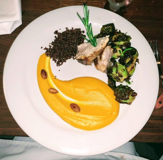 A dish served at Emma Bistro which moved from Englewood to Edgewater