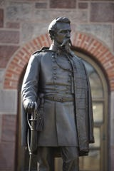 Kearny has a statue of its namesake, Gen. Philip Kearny, outside its post office. New Jersey lawmakers are considering replacing a different statue of Kearny that stands in the U.S. Capitol.