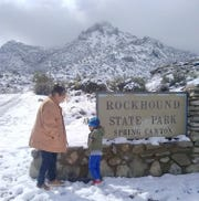"""Reymundo """"Reyco"""" Martinez and friends spent some time at Rockhound State Park south of Deming."""
