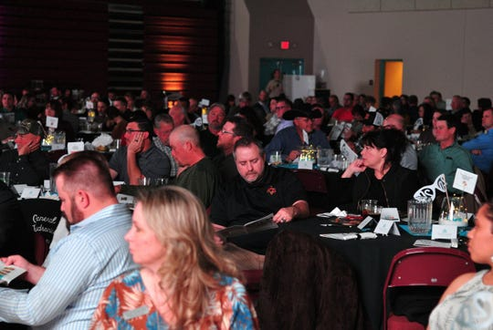 Guests attend the annual State of the Union hosted by the Alamogordo Chamber of Commerce.