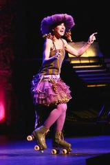 """At last year's event a performer wears Barbra Streisand's """"I'd Rather Be Blue"""" costume from """"Funny Girl."""""""