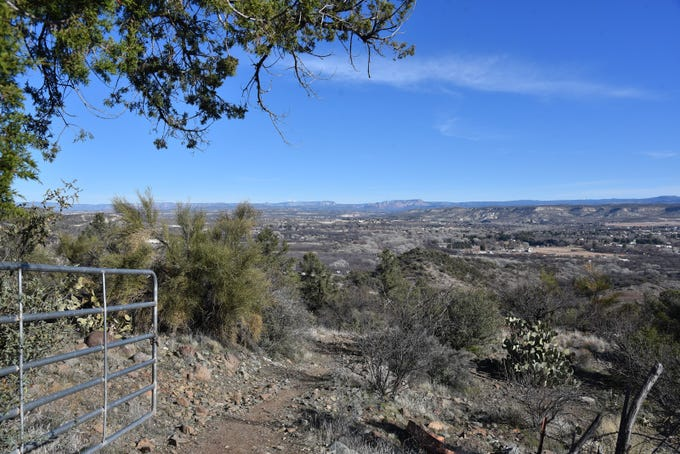 Verde Valley views stand out throughout the hike.