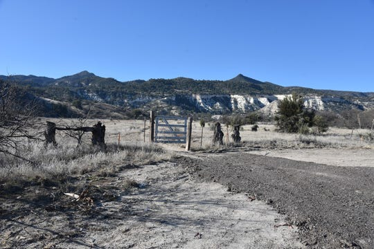 The Ryal Canyon trailhead is still under construction.
