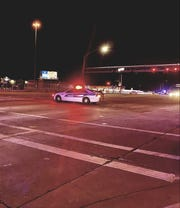 A pedestrian was injured after being hit by a car near I-17 in Phoenix.