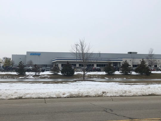 The Keihin Michigan Manufacturing facility at 14898 Koehn Road in Capac on Feb. 12, 2020. There are plans to stop operations at the facility in 2021.
