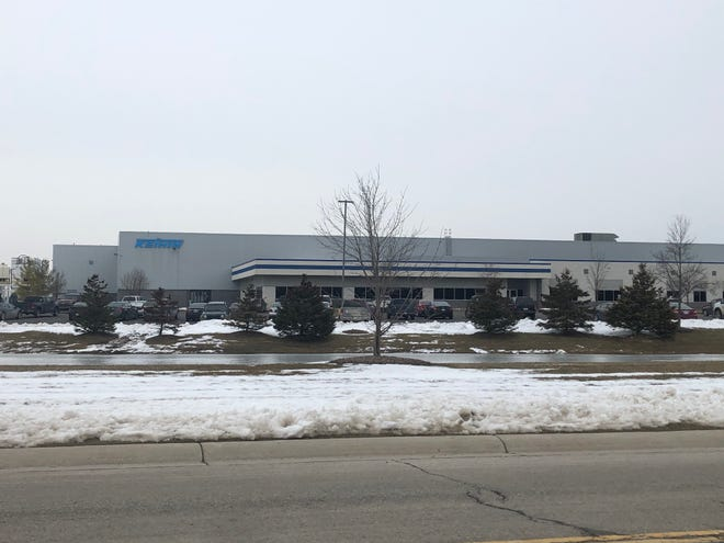 TheKeihin Michigan Manufacturing facility at 14898 Koehn Road in Capac on Feb. 12, 2020. There are plans to stop operations at the facility in 2021.