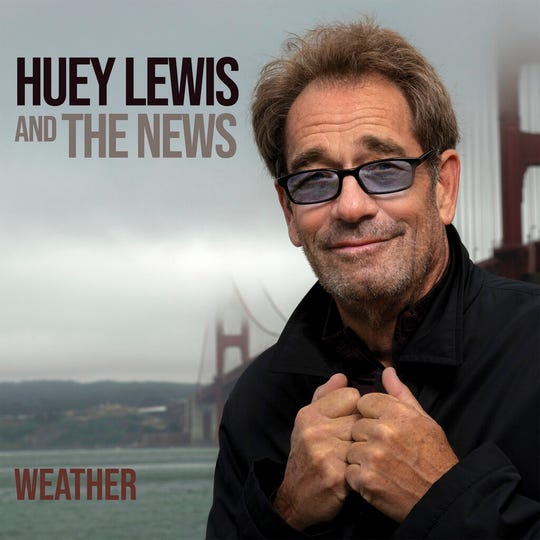"This cover image released by BMG shows ""Weather"" by Huey Lewis and The News."