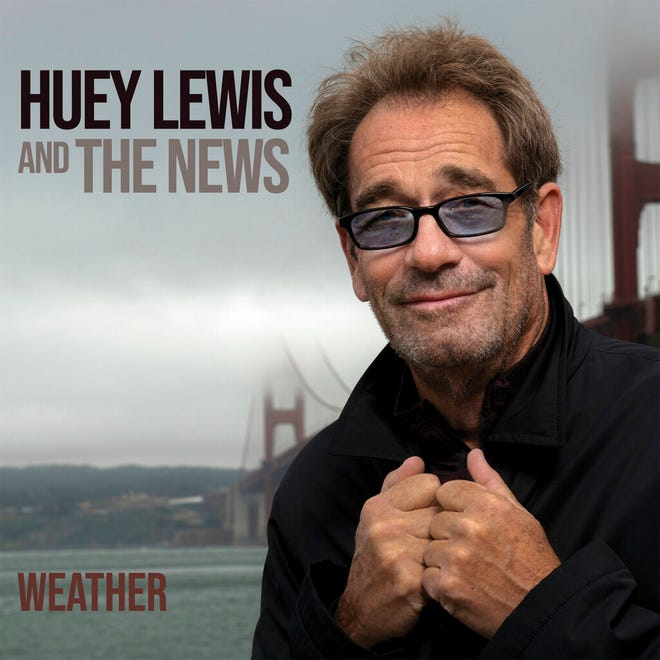 """This cover image released by BMG shows """"Weather"""" by Huey Lewis and The News."""