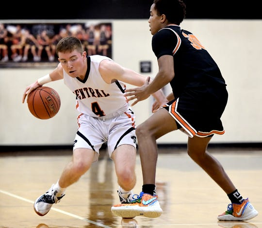 Central York's Gabe Guidinger averaged just more than 10 points per game last season for the York-Adams League champion Panthers.