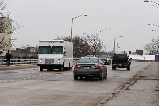 The Richmond Avenue bridge on the Whitewater River will have rehabilitation work done to it in 2025.
