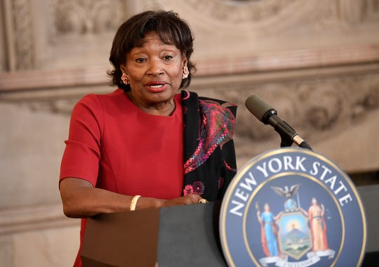 State Senate Majority Leader Andrea Stewart Cousins wants New York to earmark 50% of the revenue generated from pot sales to communities ravaged by the drug war.