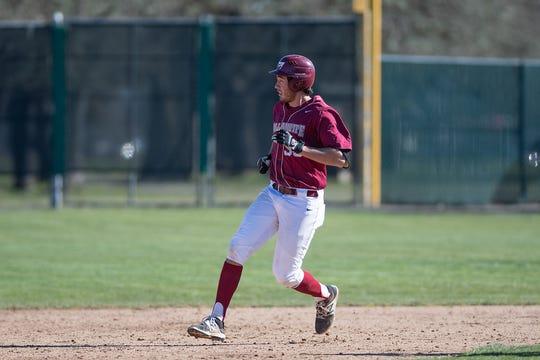 Baseball: Willamette University plays Lewis & Clark College in Salem, Oregon on March 3, 2019 (Photo: Christopher Sabato/Willamette University)