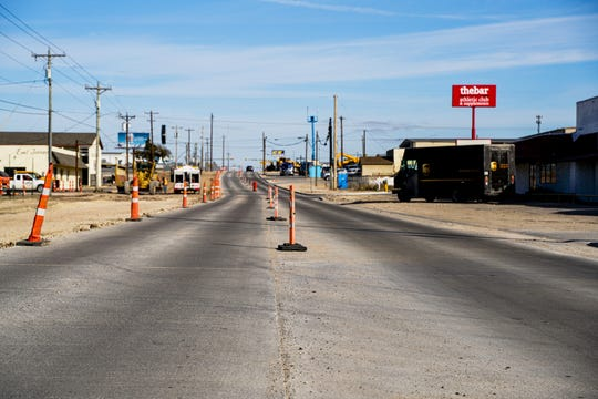 The Bell Street rehabilitation project is roughly 50% complete as of January 2020.