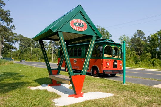 The Pony Express Trolley covers most of Chincoteague. Fares will double for the 2020 season.