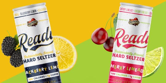 Mother's Ready Hard Seltzer is hitting shelves now.