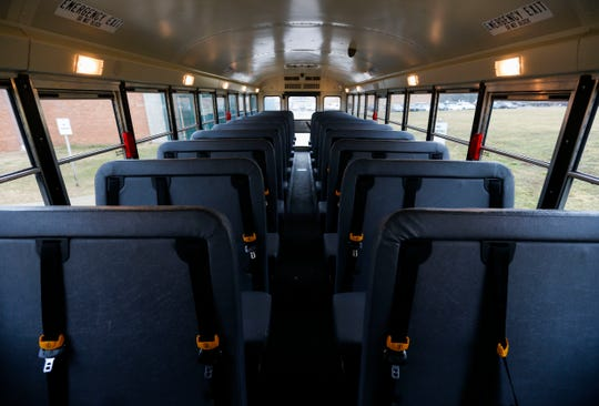 In Springfield, less than 7,700 students - roughly 30 percent - ride the school bus.