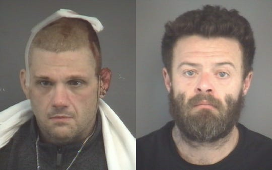 James Cooley (left) and Christopher Holcomb