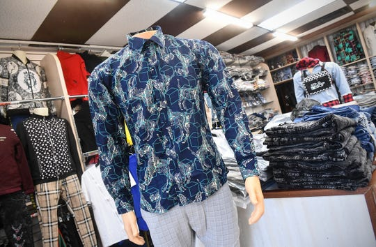 Many items of men's and women's clothing are available at Mako Store Tuesday, Feb. 11, 2020, in St. Cloud.