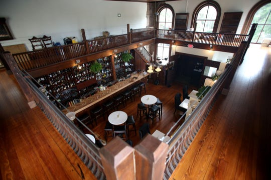 Bar 1903, located on Park Avenue in downtown Tallahassee, is open for business. Alcohol and food are served in the historic library.