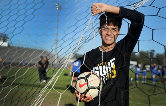 Channel Islands High's Danny Orozco is being recruited by UC Santa Barbara, UC Irvine and Cal State Northridge.