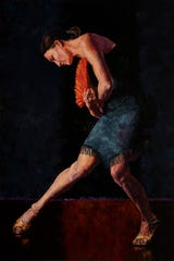 "Duane Eells' oil on linen ""Tango Dancer"" earned first place in the Buenaventura Art Association's 34th annual Open Competition. This and other select works will be on display through Feb. 22 at the Museum of Ventura County in Ventura."