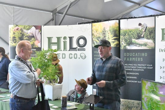 Hemp was a hot topic at the World Ag Expo this week in Tulare.