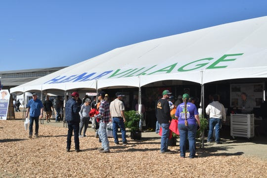 Thousands of World Ag Expo attendees stopped at the Hemp Village and pavilion to learn about the trendy new commodity.