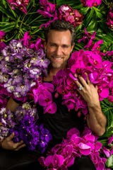 "Floral designer Jeff Leatham has worked with celebrities such as Cher, Oprah and the Kardashians. His work is featured in the New York Botanical Garden's ""The Orchid Show: Jeff Leatham's Kaleidoscope."""