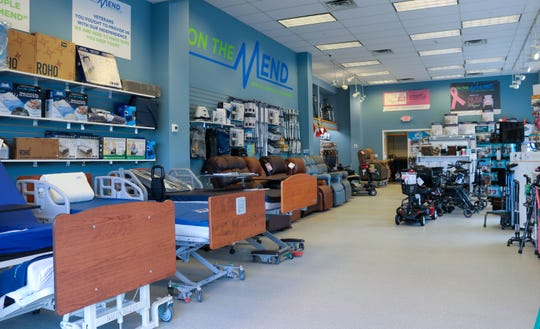 A look at the interior of On The Mend Medical Supplies & Equipment's Mount Kisco location.