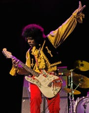 Jimy Bleu is a long running Jimi Hendrix tribute artist and lead singer/guitarist of Kiss The Sky