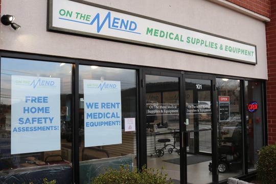 On The Mend Medical Supplies & Equipment's Mount Kisco storefront.