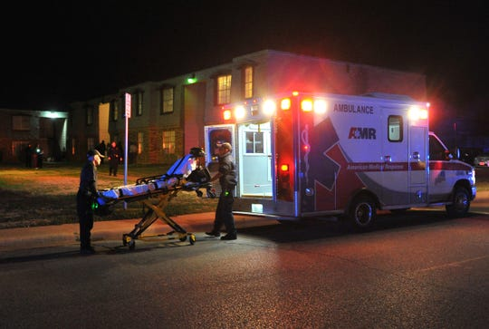 Wichita Falls emergency medics responded to possible shots fired call in the 1200 block of Ridgeway Drive where one person was seeking attention for unknown medical reasons.