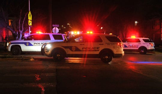Wichita Falls police officers responded to shots fired call in the 1200 block of Ridgeway Drive, Tuesday evening.